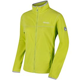 Regatta Floreo II fleece vest dames lime zest