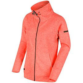 Regatta Elayna fleece vest dames neon peach