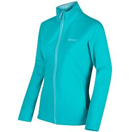 Regatta Connie III softshell jack dames aqua