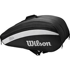 Wilson Federer Team 12 tennistas black
