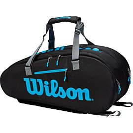 Wilson Ultra 9 Pack tennistas black blue silver