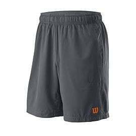 Wilson UW II Woven tennisshort heren turbulence burn orange voorkant