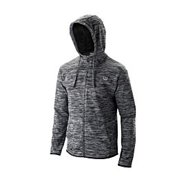 Wilson Training Full-Zip Hooded trainingsjack heren black heather