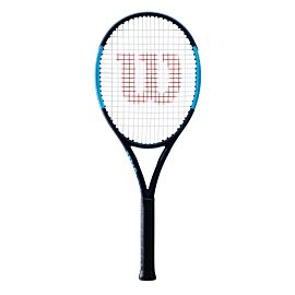 Wilson Ultra 100 Countervail tennisracket black blue voorkant