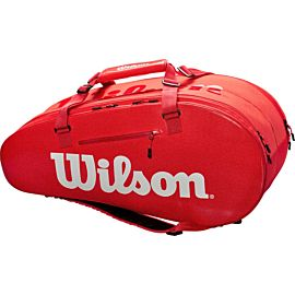 Wilson Large Super Tour 2 Compartments tennistas red