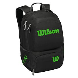 Wilson Tour V tennistas black lime voorkant