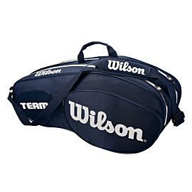 Wilson Team III 6 pack tennistas blue white