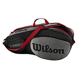 Wilson Team III 6 pack tennistas black grey