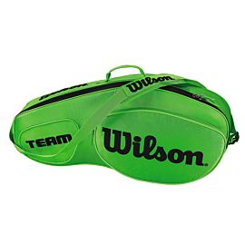 Wilson Team III 3 pack tennistas green black