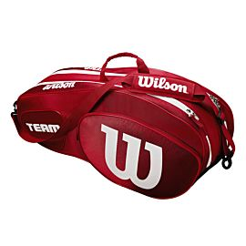 Wilson Team III 6 pack tennistas red white