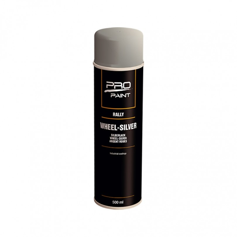 PRO-Paint Rally Wheelsilver 500 ml