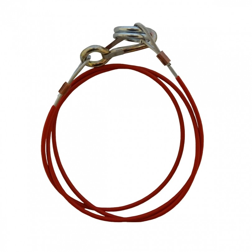 Protempo rembreekkabel met ring 140 cm