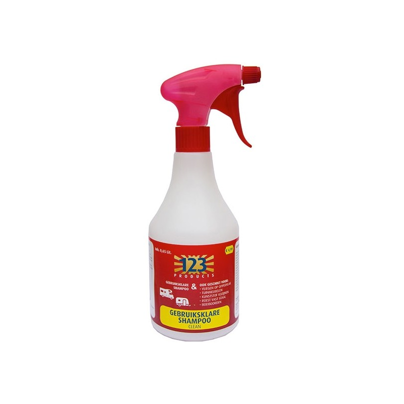 123 Products Clean Shampoo spuitflacon 650 ml
