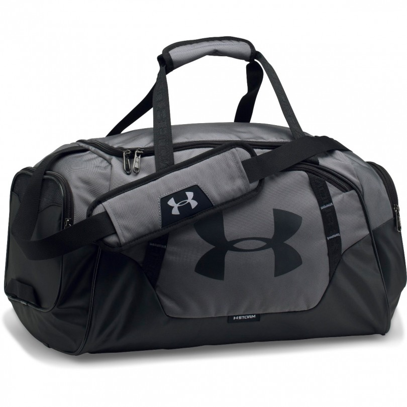 Under Armour UA Undeniable Duffle 3.0 sporttas small grijs