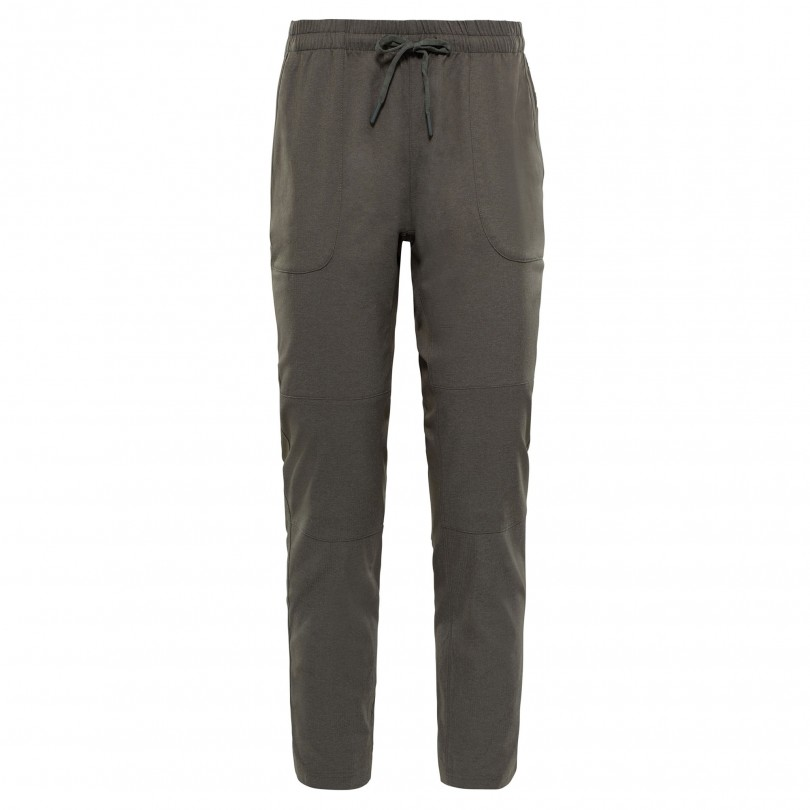 The North Face Aphrodite Motion wandelbroek dames taupe green heather