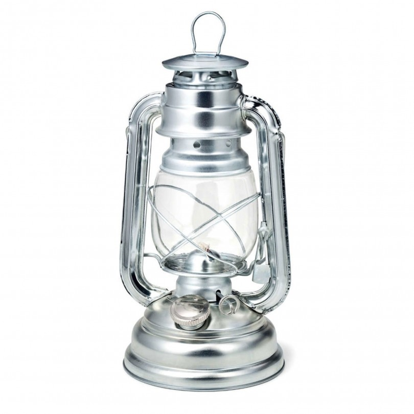Boomex party olielamp zilver