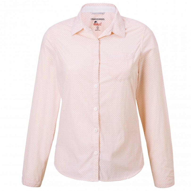 Craghoppers NosiLife Adoni blouse dames blossom pink