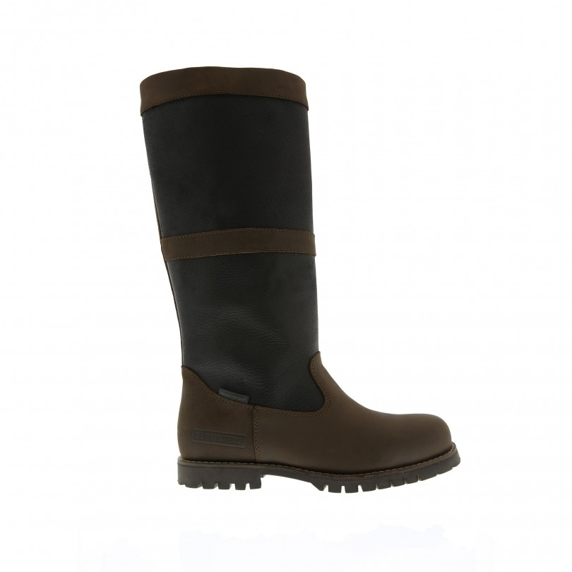 Bergstein Greenwich winterlaarzen dames black brown