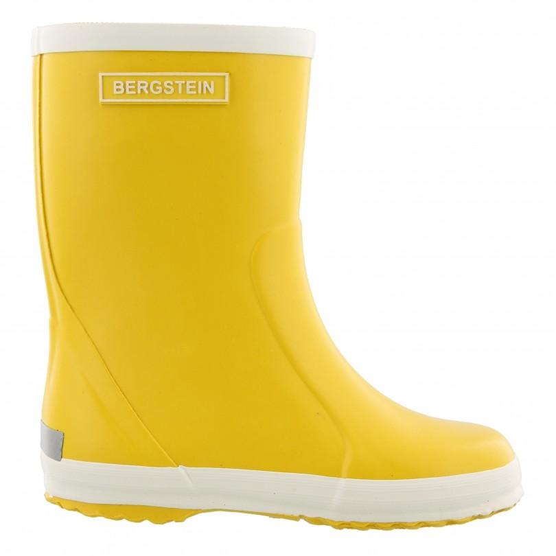 Bergstein Rainboot regenlaarzen junior yellow
