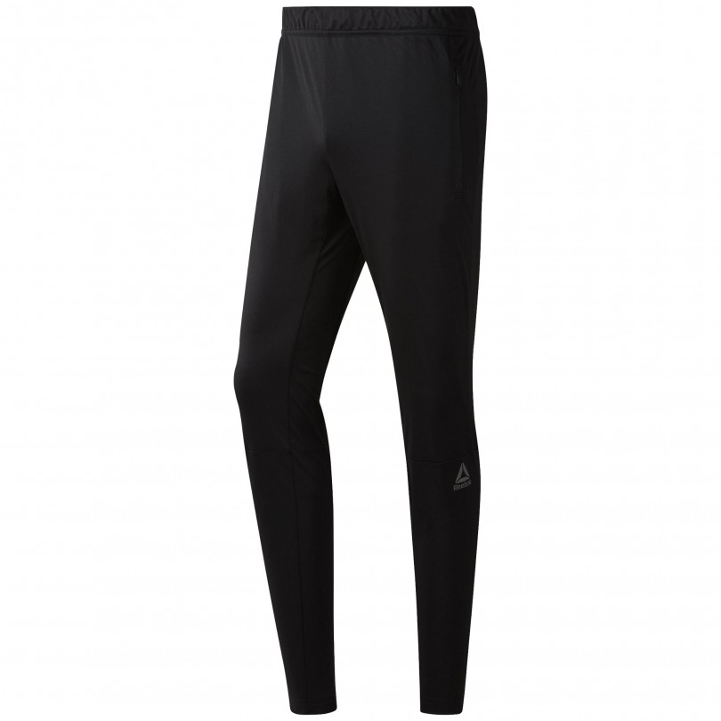 Reebok Speedwick Geweven Trackster sportbroek heren black