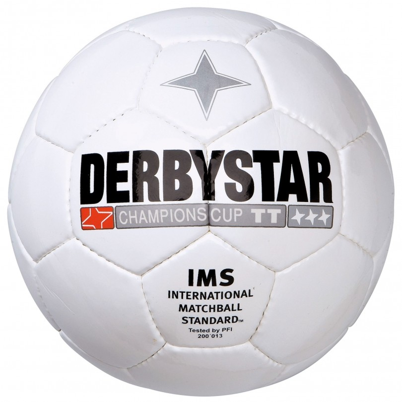 Derbystar Champions Cup voetbal wit