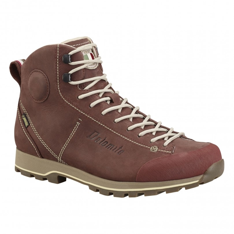 Dolomite CinquantaQuattro High FG GTX 247958 wandelschoenen dames chocoate brown