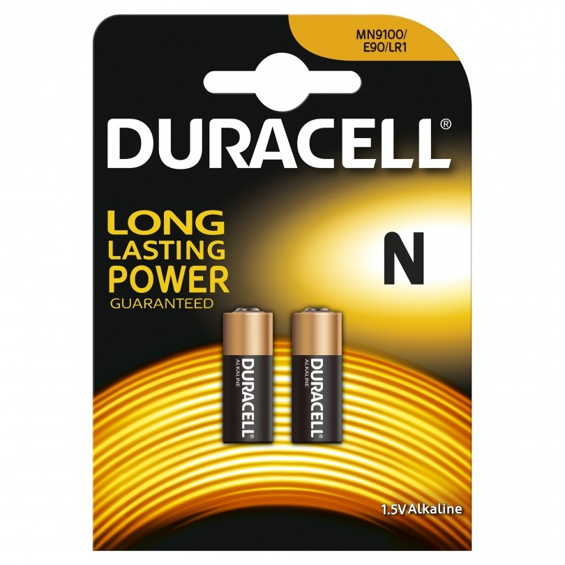 Duracell Plus Power Duralock Alkaline MN9100 LR1 batterij