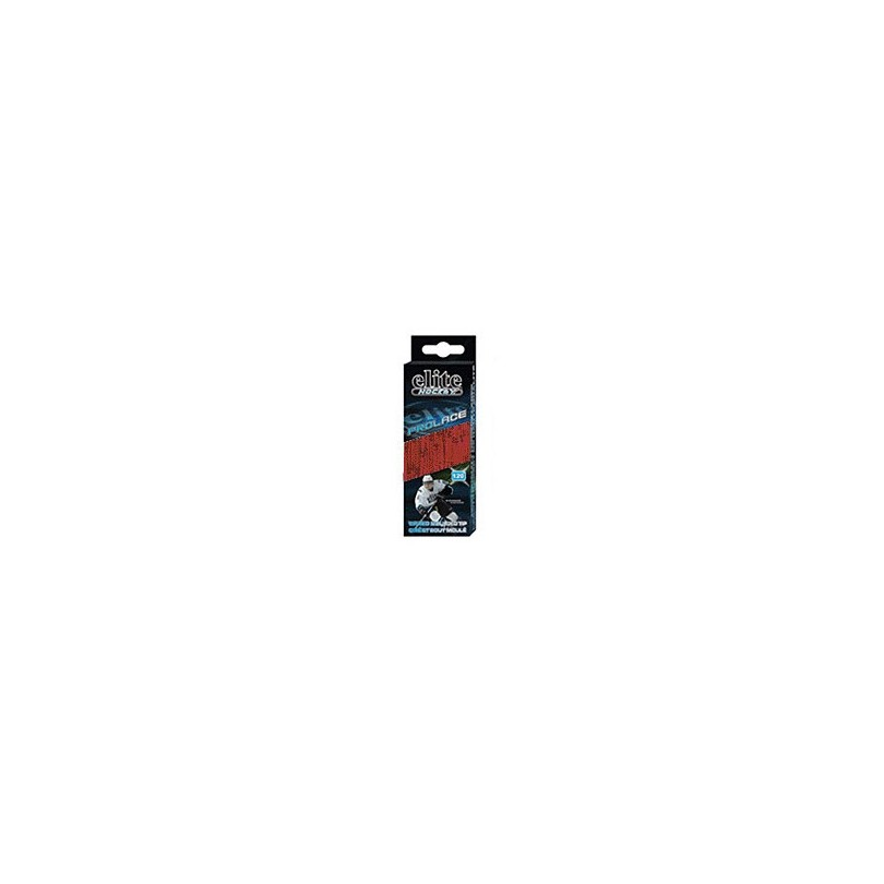 Elite Hockey Prolace Waxed Molded Tip veters 96'' red