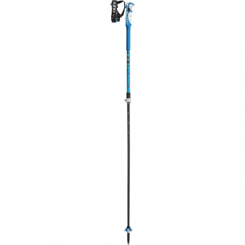 Leki Blue Bird Vario S skistokken blue dark blue white