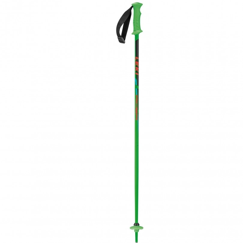 Leki Rider skistokken junior green black