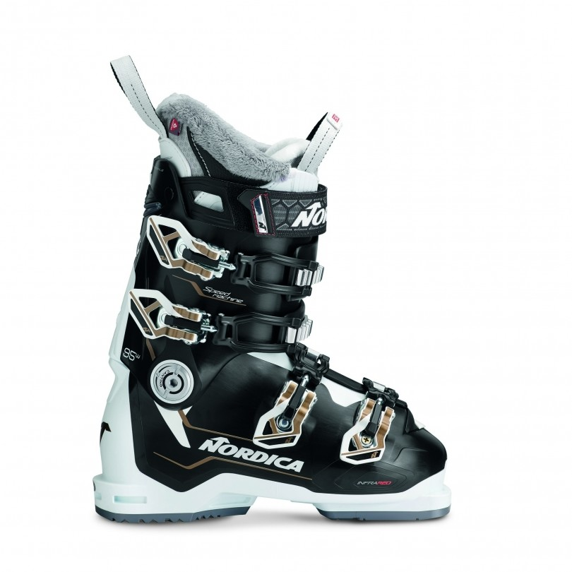 Nordica Speedmachine 95 skischoenen dames black white bronze