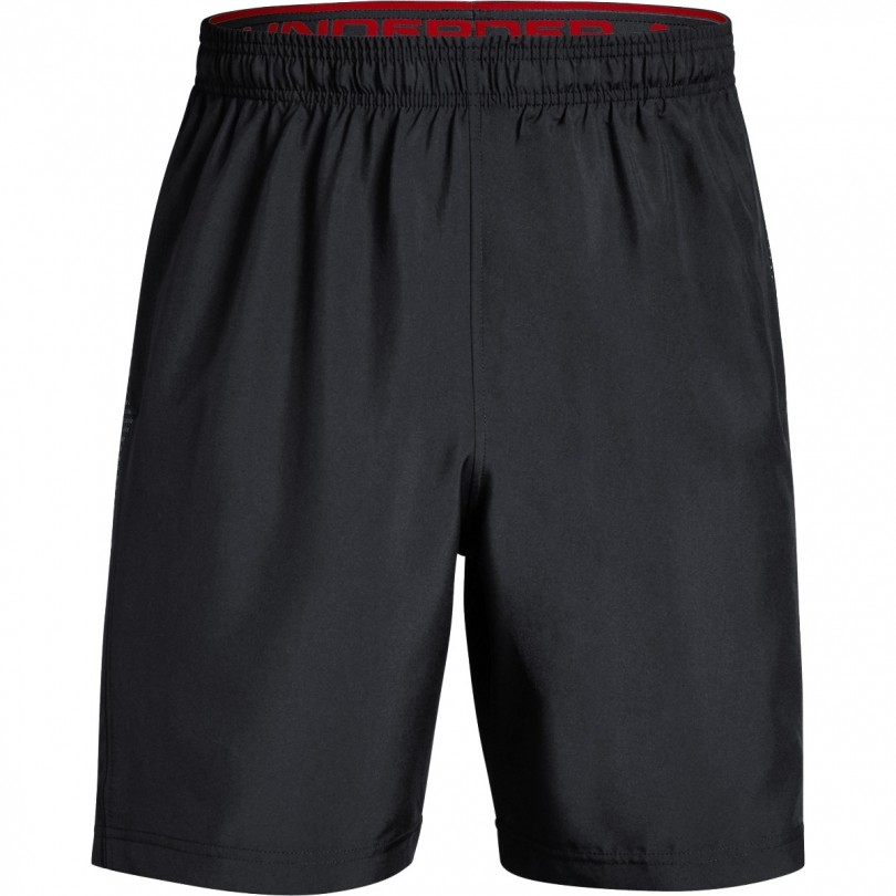 Under Armour Woven Graphic short heren black