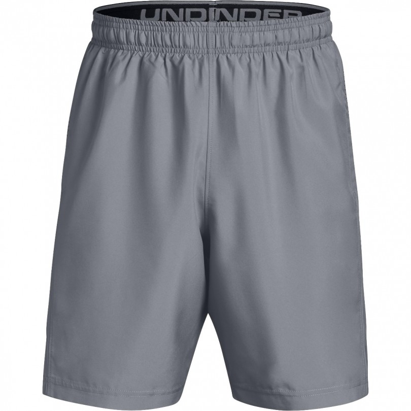 Under Armour Woven Graphic short heren gray