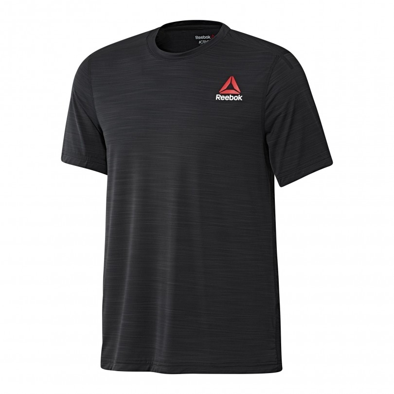 Reebok Activchill Performance fitness shirt heren black