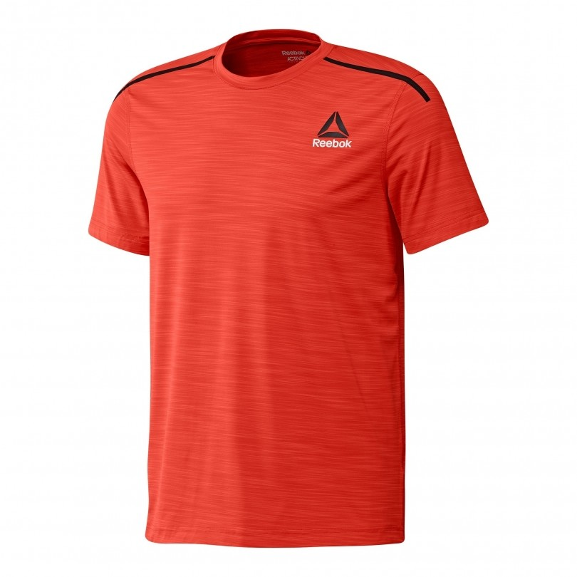 Reebok Activchill Performance fitness shirt heren carotene