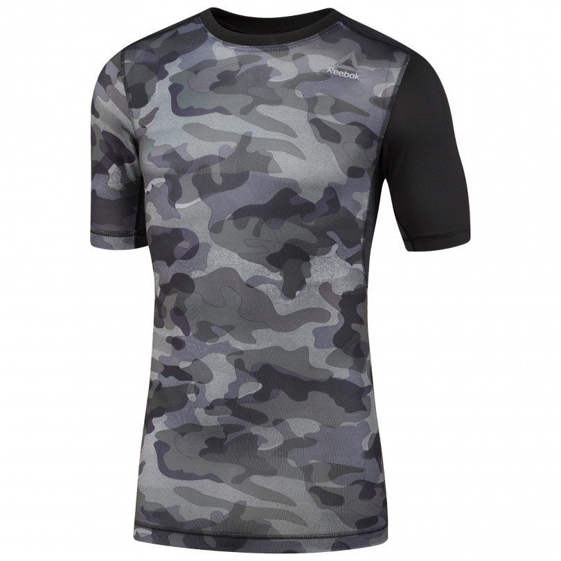 Reebok Activchill Compressie fitness shirt heren black