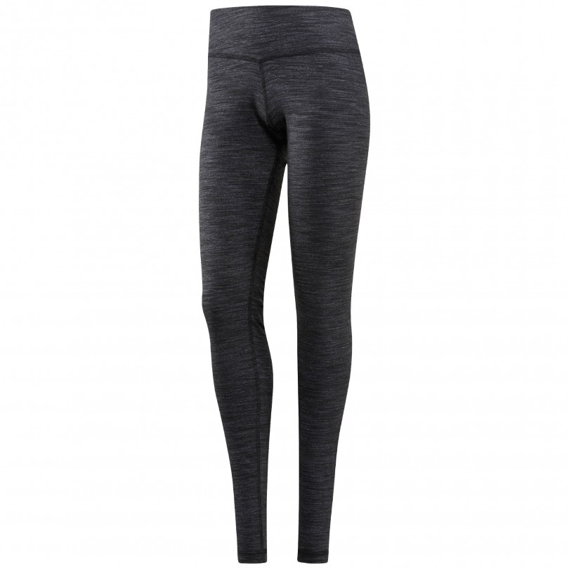 Reebok Elements Marble fitness broek dames black