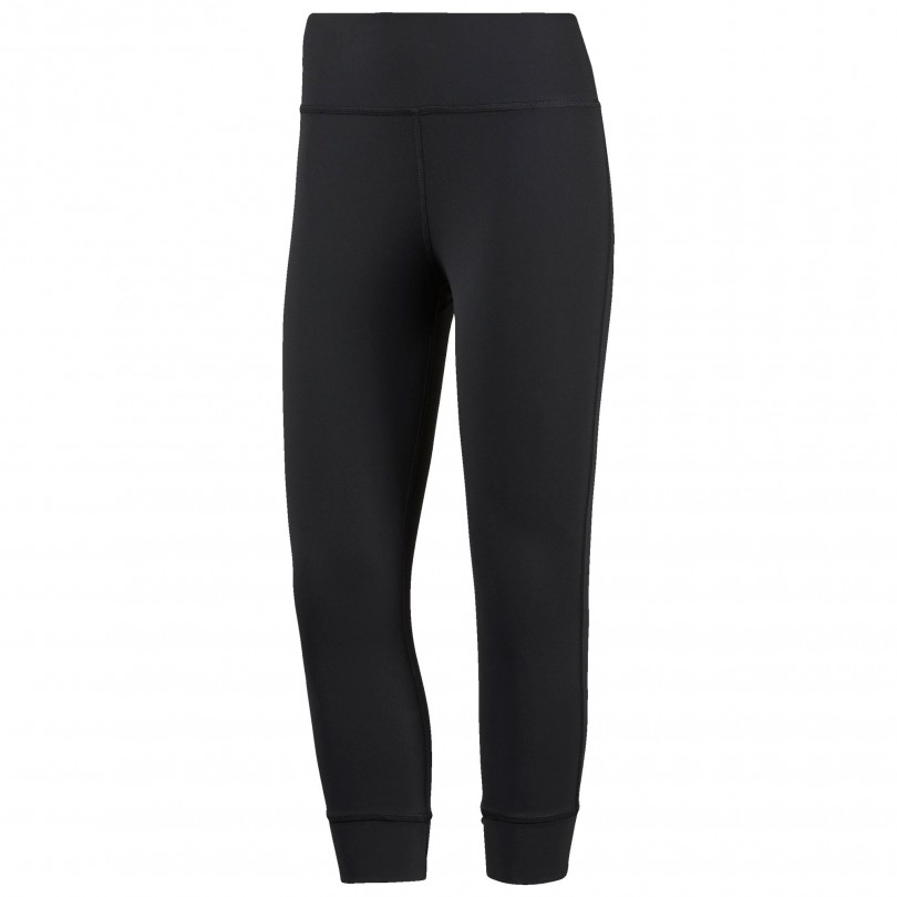 Reebok Lux 3/4 Legging fitness broek dames black