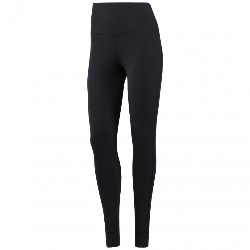 Reebok Lux High-Rise Legging fitnessbroek lang dames black