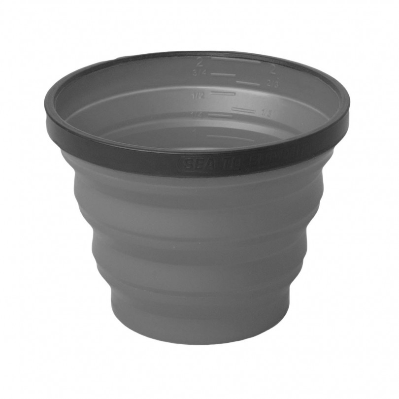 Sea to Summit X-Cup opvouwbare beker grey