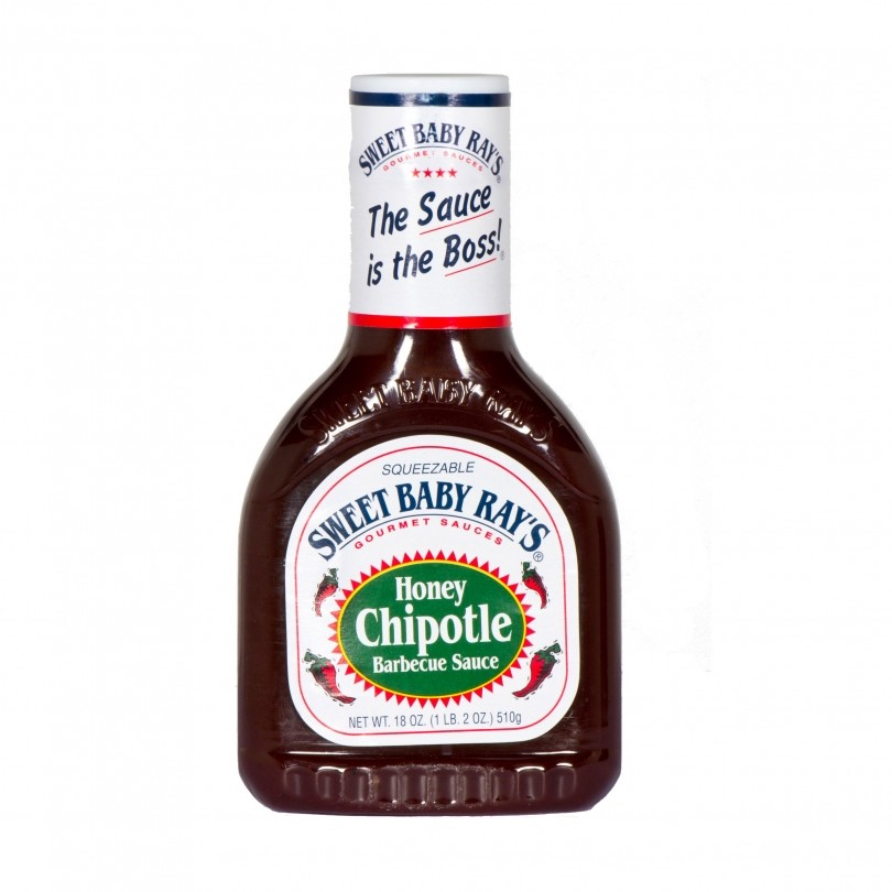 Sweet Baby Ray's Honey Chipotle barbecuesaus 500 ml