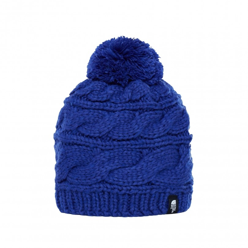 The North Face Triple Cable Beanie muts dames inauguration blue