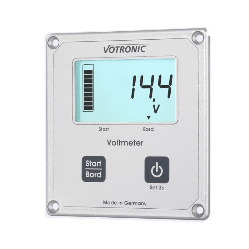 Votronic Lcd display voltmeter
