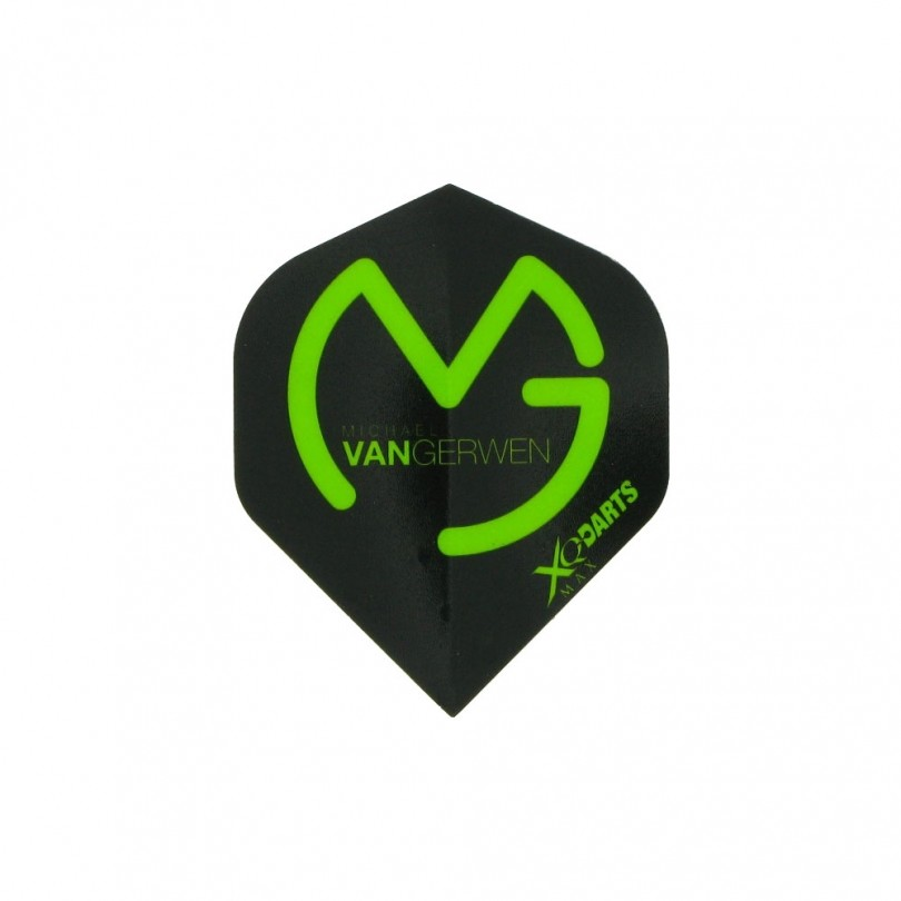 XQ-Max Darts Michael van Gerwen flights zwart