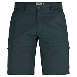 fjallraven travellers short heren dark navy