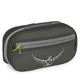 osprey ultralight washbag zip toilettas shadow grey