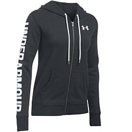 under armour favorite fleece vest dames black