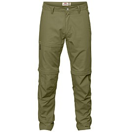 fjallraven travellers zip-off wandelbroek heren savanna