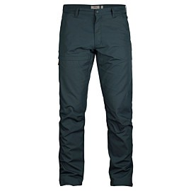 fjallraven travellers wandelbroek heren dark navy
