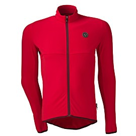 agu essential thermo fietsshirt heren rood
